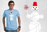 Vīriešu krekls  Premium Sniegavīrs