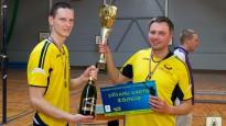 Valmieras volejbola čempionātā sadalītas medaļas