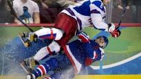 Olimpiskais hokejs turnīrs. 3. diena
