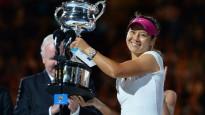 """Lī """"Australian Open"""" triumfs"""