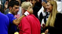 """Džokovičs atkal Federeru sakauj """"Grand Slam"""" finālā"""