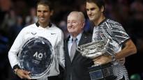 "Federera un Nadala tenisa klasika ""Australian Open"" finālā"