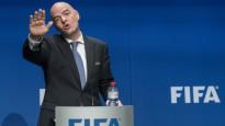 """Infantīno: """"Futbols ir kas vairāk par Eiropu un Dienvidameriku"""""""