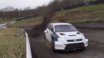 Solbergs aizvada testus ar jauno ''Volkswagen Polo GTI Supercar''