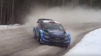 Ots Tanaks Zviedrijas WRC pamanās attīstīt 198 km/h lielu ātrumu
