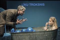 """Foto: Režisors Toms Treinis Dailes teātrī iestudējis izrādi """"Kam no Vilka kundzes bail?"""""""