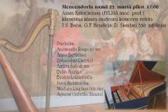 Foto: A. Kalnciemas klavesīna klases studentu koncerts