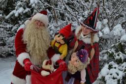 """""""Čučumuižas Ziemassvētki"""" kopā ar Ziemassvētku vecīti"""