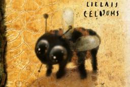 """Jauna grāmata bērniem """"Mazās bite lielais ceļojums"""""""