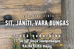 SIT, JĀNĪTI, VARA BUNGAS jeb rīdzinieki mācās svinēt Jāņus Rīgā un laukos