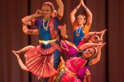 """Indiešu klasiskās dejas vakars ARUNA izstāžu zālē """"Rīgas mākslas telpa"""""""