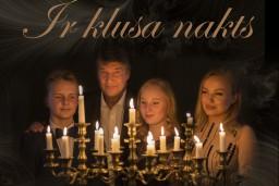 """Dināra Rudāne un Ingus Pētersons jaunā  Ziemassvētku programmā """"IR KLUSA NAKTS"""""""
