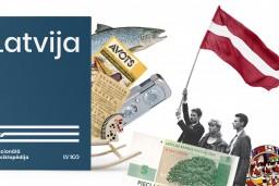 """Atvērs Nacionālās enciklopēdijas sējumu """"Latvija"""""""