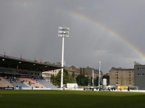 """""""Skonto"""" stadiona īpašnieki vēršas policijā ar lūgumu sākt kriminālprocesu"""