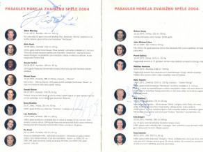 2004. gada Pasaules Hokeja Zvaigžņu spēle