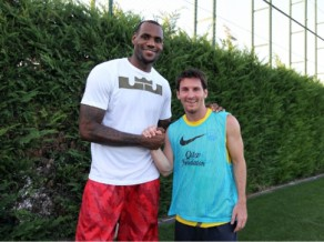 Kobe un Lebrons: Mesi ir pasaulē labākais futbolists