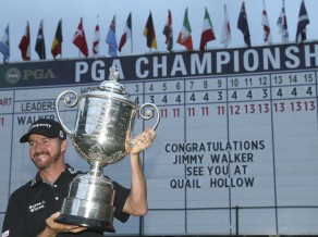 "Volkers triumfē ""PGA Championship"", iegūstot pirmo ""major"" titulu"