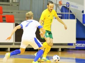 Lietuva un Igaunija Jelgavā spēlē neizšķirti