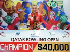 Zavjalova triumfē Katarā un saņem iespaidīgu naudas balvu (+video)