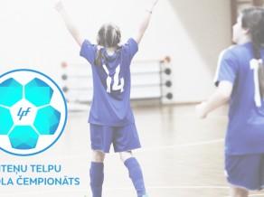 Startēs Latvijas meiteņu telpu futbola čempionāts