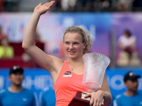 Deivisai un Sinjakovai pirmie WTA tituli