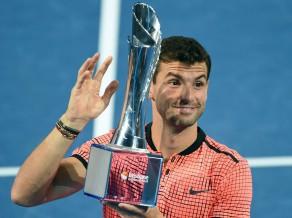 Dimitrovs pirmoreiz uzvar Nišikori un kļūst par čempionu Brisbenā