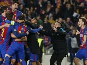 Barselona šokē futbola pasauli un pēdējā minūtē pārspēj PSG