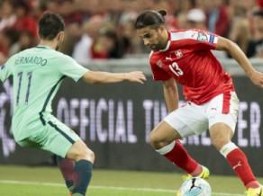 Šveice pirms spēles pret Latviju paliek bez pamatsastāva aizsarga Rodrigesa