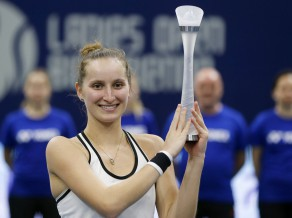 17 gadus vecā Vondroušova izcīna pirmo WTA titulu