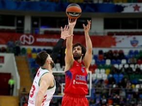 """CSKA uzvar ar lielu izbīli, """"Fenerbahce"""" apgriež spēli <i>kājām gaisā</i>"""