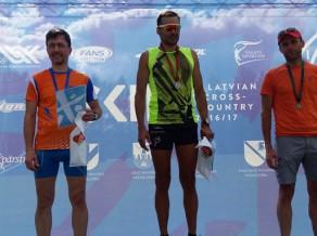 Olimpiskais čempions Vērpalu ātrākais LČ un FIS rollerslēpošanā Priekuļos
