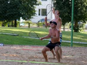 """Nedēļas nogalē Rīgā krosmintona turnīrs """"ICO Speedminton ELKOR Beach Cup"""""""