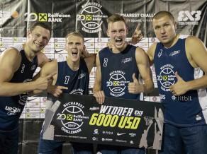 """""""Rīga Ghetto Basket"""" 3x3 basketbolisti izcīna ceļazīmi uz Pasaules tūri Lozannā"""