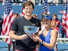 """Hingisa un Marejs Vimbldonas trofejai pievieno """"US Open"""" titulu"""