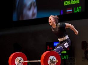Koha un Plēsnieks uzvar Latvijas čempionātā svarcelšanā atsevišķos vingrinājumos