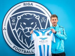"""""""Riga"""" FC paraksta līgumu ar UEFA Eiropas līgas finālistu"""