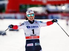 Leģendārā Bjergena 38 gadu vecumā beidz slēpotājas karjeru