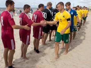 Latvijas pludmales futbola izlasi turpmāk vadīs Andrejs Baumanis
