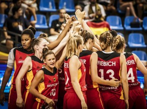 Latvijas U18 meitenes pusfinālā vēlreiz tiksies ar Vāciju