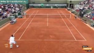 """Video: Gulbis pārvar """"French Open"""" 1. kārtu"""