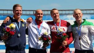 Video: Smaiļotājs Rumjancevs izcīna trešo vietu Eiropas čempionātā