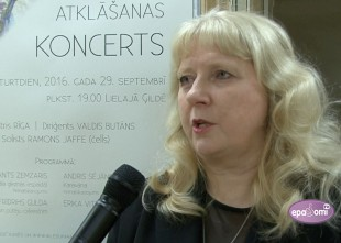"""Video: Orķestris """"Rīga"""" atklāj koncertsezonu ar krāsainu koncertu Lielajā ģildē"""