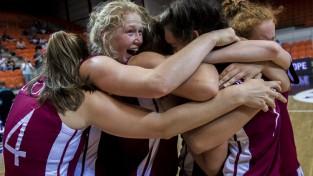U16 meitenes galotnē zaudē Itālijai un finišē ceturtās