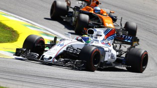 """Alonso: """"Trūka jaudas, Masa spēja atrauties pat DRS zonā"""""""