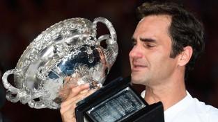 "Federers ar uzvaru piecu setu finālā svin 20. ""Grand Slam"" titulu"