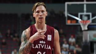 Latvija pret Slovēniju spēlēs bez Butjankova, Strautiņa un Gromova