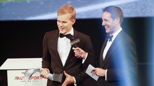 Igaunis Tanaks iegūst balvu nominācijā ''Gada labākais rallija pilots''