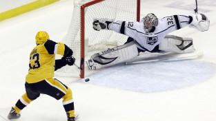 """Bļugeram vārti un 19 minūtes pirmajā maiņā, """"Penguins"""" uzvar aizraujošā cīņā"""