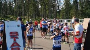 Saulītis un Auziņa ātrākie FIS rollerslēpošanas sprintā Madonā