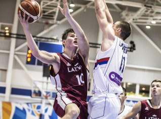 U20 vīrieši: Eiropas čempionāta grupā ar Lietuvu, Ukrainu un Izraēlu
